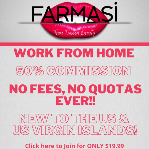 Sign Up with Farmasi; Farmasi Beauty Influencer